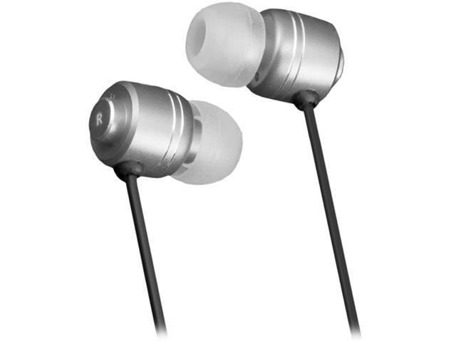Moki Silver ACCHPIES 3.5m (gold plated) Connector Pro Noise Isolation Earbuds - Silver