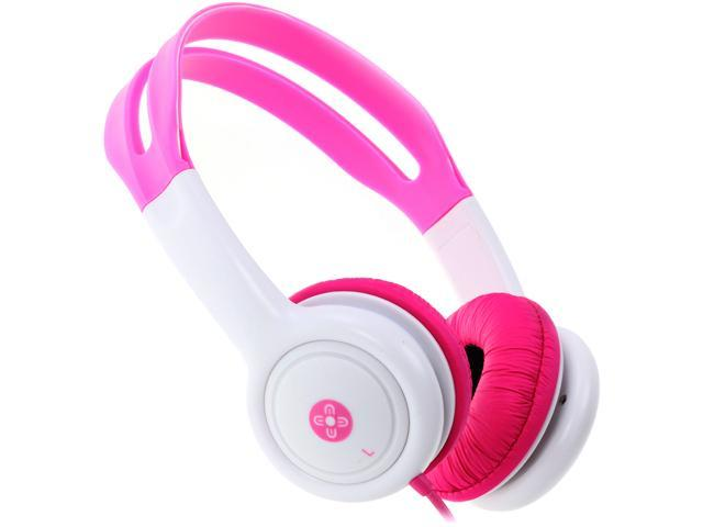 Moki Pink ACCHPKP 3.5mm (gold plated) Connector Volume Limited Kids Headphones - Pink
