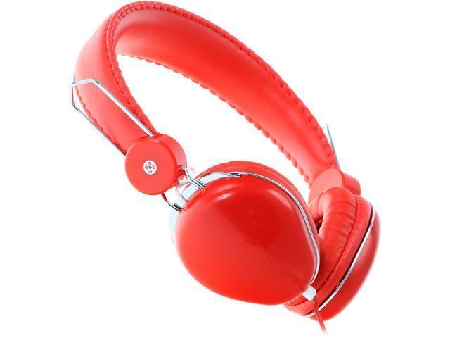 Moki Red ACCHPVLR Volume Limited Headphones - Red
