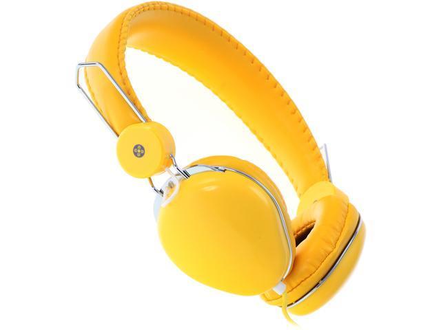 Moki Yellow ACCHPVLY Volume Limited Headphones - Yellow