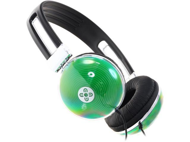 Moki Green ACCHNG Neon Headphones - Green