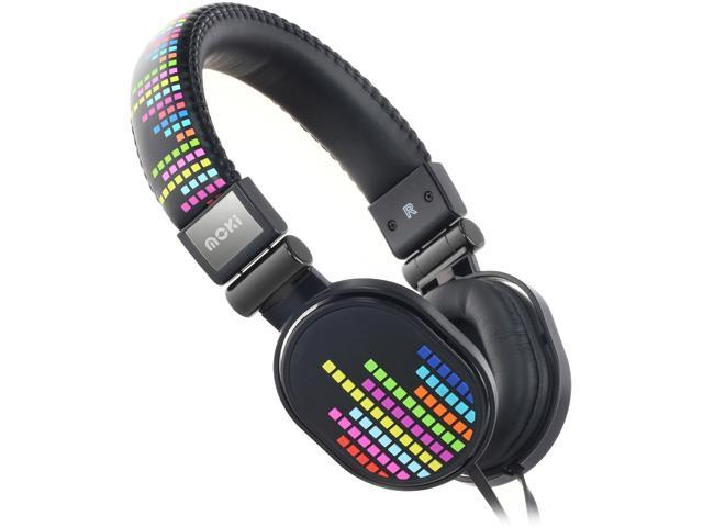 Moki Levels Black ACCHPPOE Popper Headphones - Levels Black