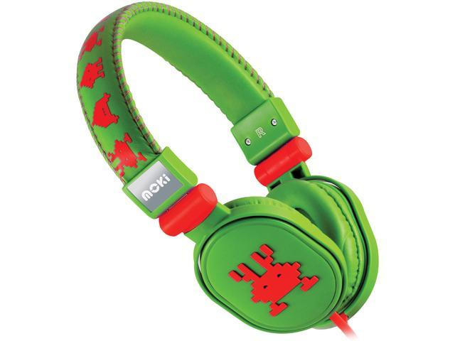 Moki Martian Green ACCHPPOF Popper Headphones - Martian Green