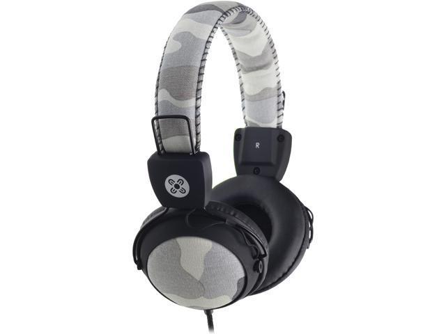 Moki Gray ACC HPCAMGY Camo Headphones