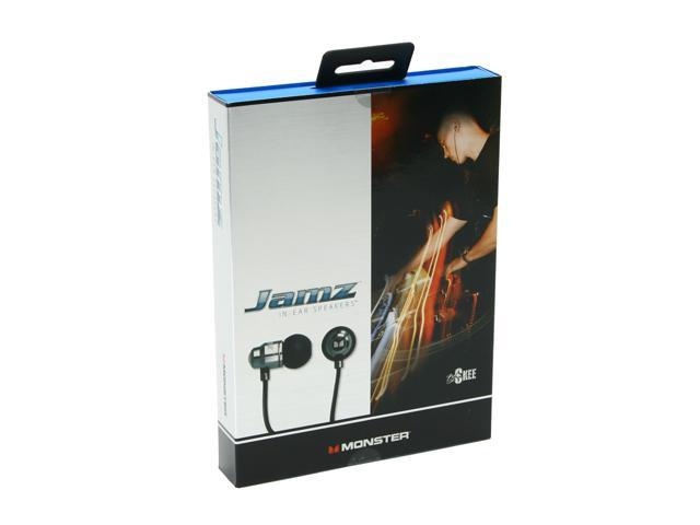 Monster Jamz 3.5mm Connector In Ear High Performance Noise Isolating Headphone