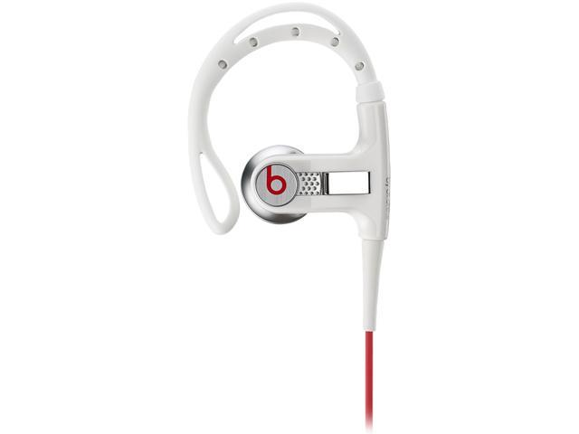 Beats by Dr. Dre White 900-00006-01 3.5mm Connector In-Ear Earphone with ControlTalk w/Sport Hook - Lebron James White