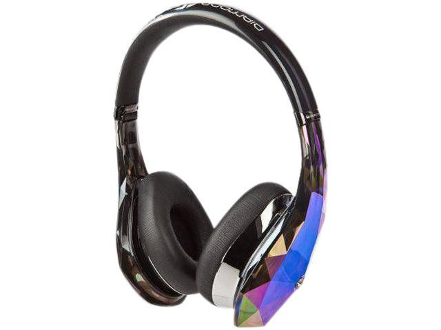 Diamond Tears Edge On-Ear Headphones by Monster - Black - 128426