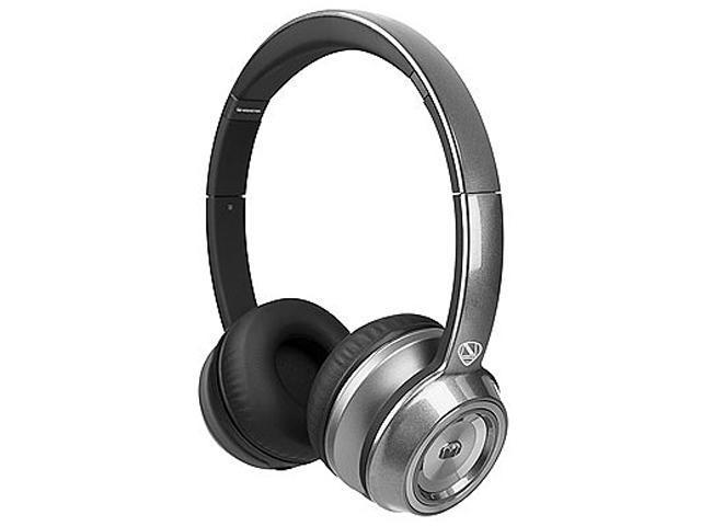 Monster Silver 128501 NCredible NTune Core Pearl On-Ear Headphones