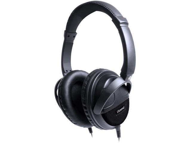 iSound DGHP-5550 3.5mm Connector Circumaural HP-600 Over-The-Ear Headphones