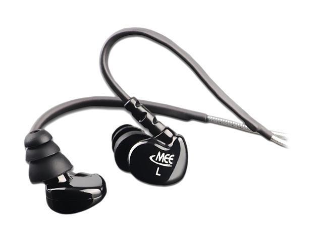 MEElectronics MEE-M6-BK 3.5mm Connector Earbud M6 Sports In-Ear Headphones (Black)