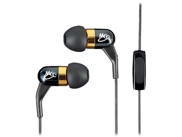 MEElectronics EP-A161P-BK-MEE 3.5mm Connector Earbud In-Ear Noise-Canceling Headphones with Balanced Armature Technology