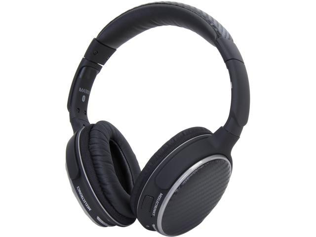 MEElectronics Air-Fi Matrix2 AF62 Stereo Bluetooth Wireless Headphones with Headset Functionality