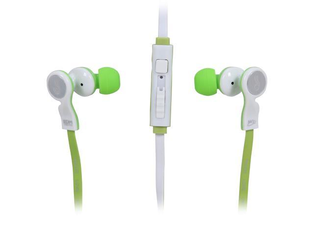 MEElectronics EDM Universe In-Ear Headphones with Headset Functionality and Universal Volume Control (Unity/Green)