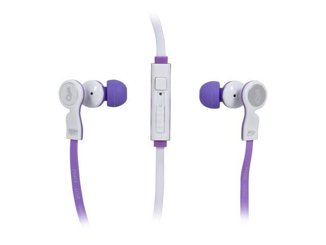 MEElectronics EDM Universe In-Ear Headphones with Headset Functionality and Universal Volume Control (Respect/Purple)