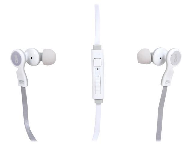 Mee audio White D1P-WT Canal Headphone/Headset