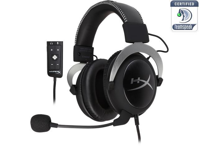 HyperX Cloud II Gaming Headset with 7.1 Virtual Surround Sound for PC/PS4/Mac/Mobile - Gun Metal
