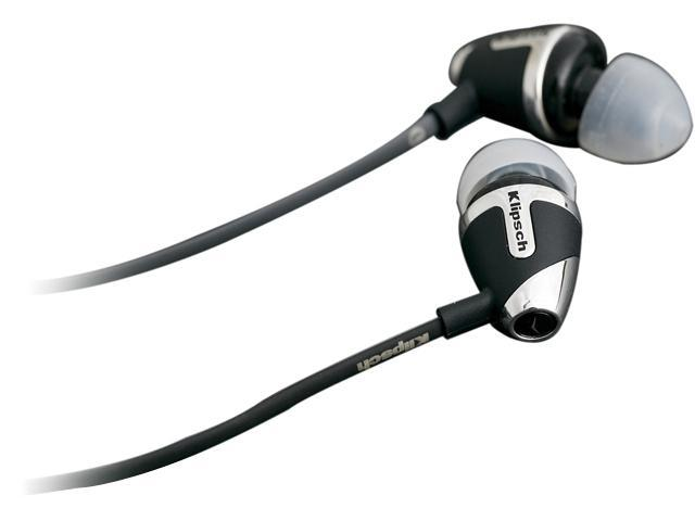 Klipsch Black IMAGE S4 3.5mm Connector In-Ear Headphone