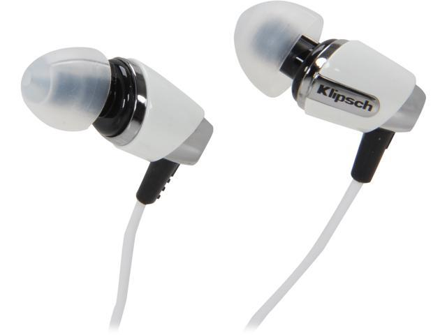 Klipsch White IMAGE S4-WHITE 3.5mm Connector In Ear Headphone