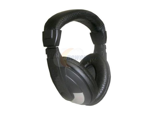 Nady System QH-200 3.5mm/ 6.3mm Connector Circumaural Studio Stereo Headphone