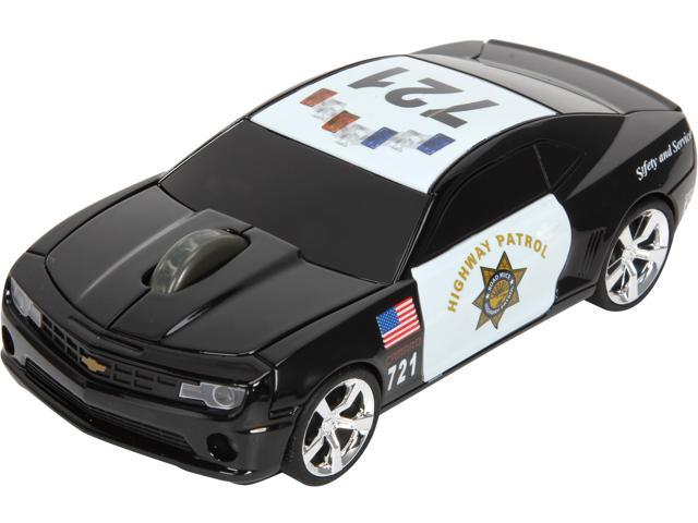 Road Mice HP-11CHCCUXH Black 1 x Wheel USB RF Wireless Optical 800 dpi Camaro Highway Patrol