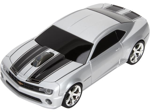 Road Mice Camaro HP-11CHCCSXK Silver/Black 1 x Wheel USB RF Wireless Optical 800 dpi Mouse