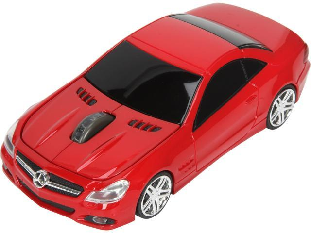 Road Mice Mercedes Benz SL550 HP-12MBS5RXA Red 1 x Wheel USB RF Wireless Optical 1750 dpi Mouse