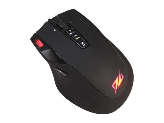 SHARKOON DarkGlider 000SKDGM Black 10 Buttons Tilt Wheel USB 2.0 Wired Laser 6000 dpi Gaming Mouse