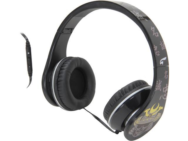 EAGLE TECH Samurai Song-Strength of Character Headphones ET-ARHP300FS-BK