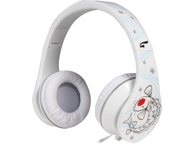 EAGLE TECH Koi-Take the Road Less Traveled Headphones ET-ARHP300FK-WH