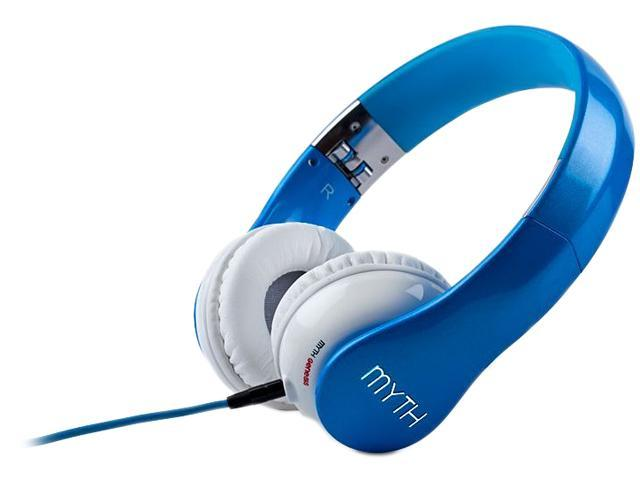 Myth Labs Blue GE/1A Genesis On-Ear Headphones with Sonic Signature (Aria)