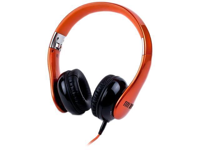 Myth Labs Orange GE/1R Genesis On-Ear Headphones with Sonic Signature (Requiem)