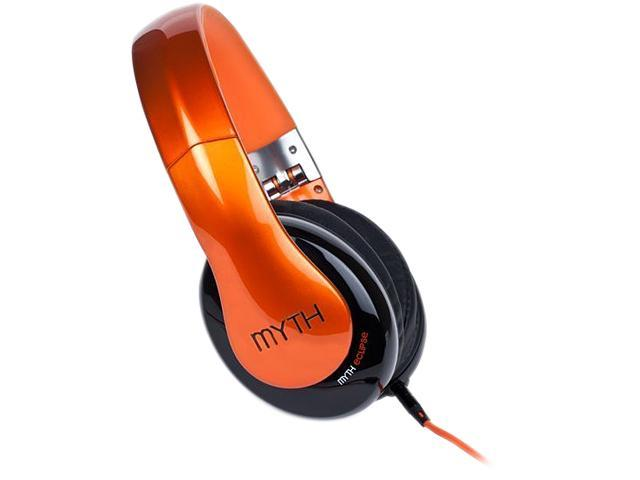 Myth Labs Orange ME/1R Eclipse Over-Ear Headphones with Sonic Signature (Aria)