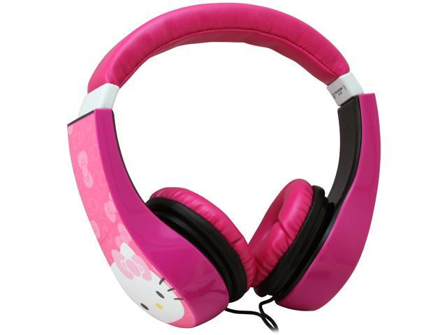 Hello Kitty 30309-TRU Kid Safe Over the Ear Headphone w/ Volume Limiter