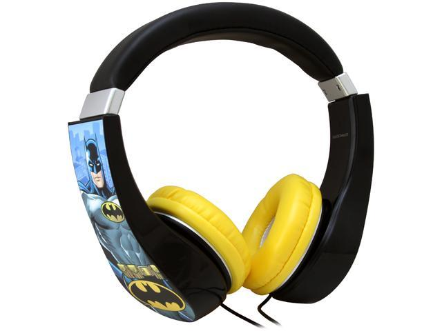 Batman 30382-TRU Kid Safe Over the Ear Headphone w/ Volume Limiter