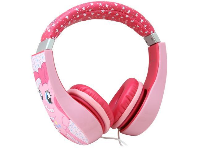 My Little Pony 30357-TRU Kid Safe Over the Ear Headphone w/ Volume Limiter