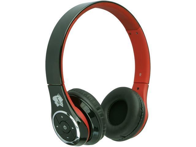 Life n Soul BN301-B Bluetooth Headphones Black & Red