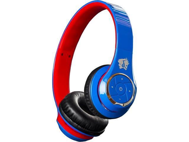 Life n Soul BN301-BUR Bluetooth Headphones Blue & Red