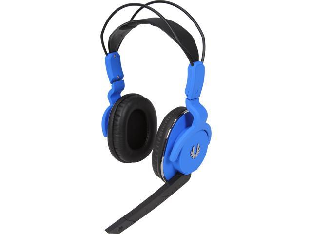 BitFenix Flo 3.5mm Connector Circumaural Headset - Cobalt Blue