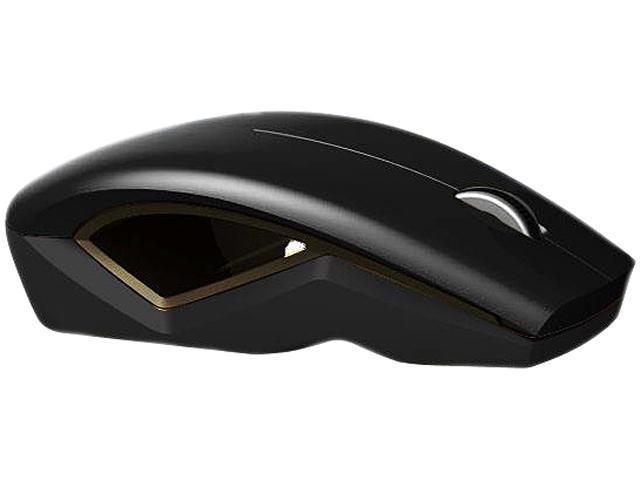 LEXMA M715R Black 3 Buttons 1 x Wheel USB RF Wireless BlueTrace Mouse