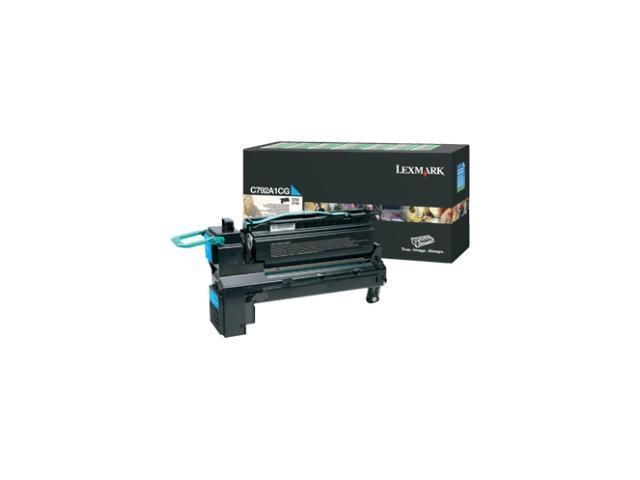 Lexmark X792X4CG Toner Cartridge - Cyan