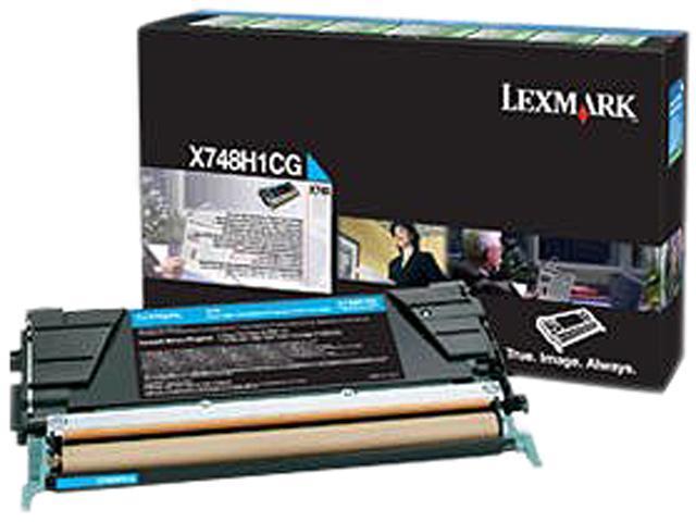 LEXMARK X748H4CG High Yield Toner Cyan