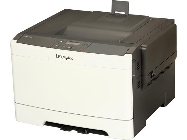 LEXMARK CS310n Workgroup Up to 25 ppm 1200 x 1200 dpi Color Print Quality Color Laser Printer