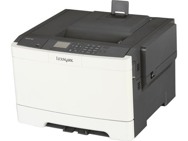 LEXMARK CS410n Workgroup Up to 32 ppm 1200 x 1200 dpi Color Print Quality Color Laser Printer