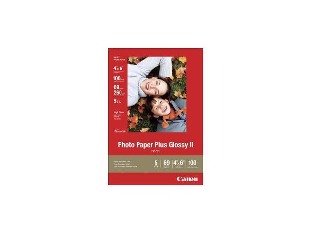 Photo Paper Plus Glossy II, 69 lbs., 4 x 6, 100 Sheets/Pack