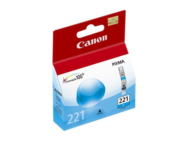 Canon CLI-221C Ink tank&#59; Cyan (2947B001)