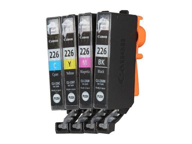Canon (4546B007) CLI-226 4 Color Pack printer ink cartridge