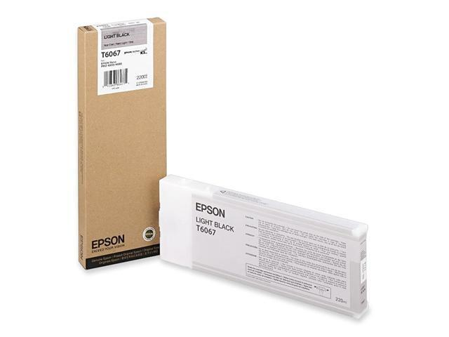 EPSON T606700 220 ml UltraChrome Ink Cartridge Light Black