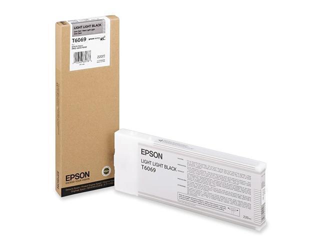 EPSON T606900 220 ml UltraChrome Ink Cartridge Light Light Black