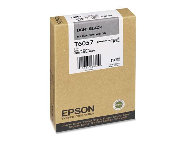 EPSON T605700 110 ml UltraChrome Ink Cartridge Light Black
