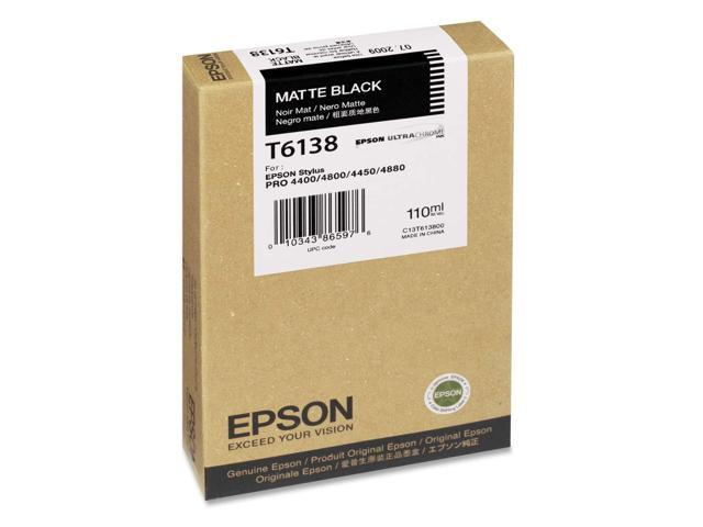 EPSON T613800 Cartridge Matte Black